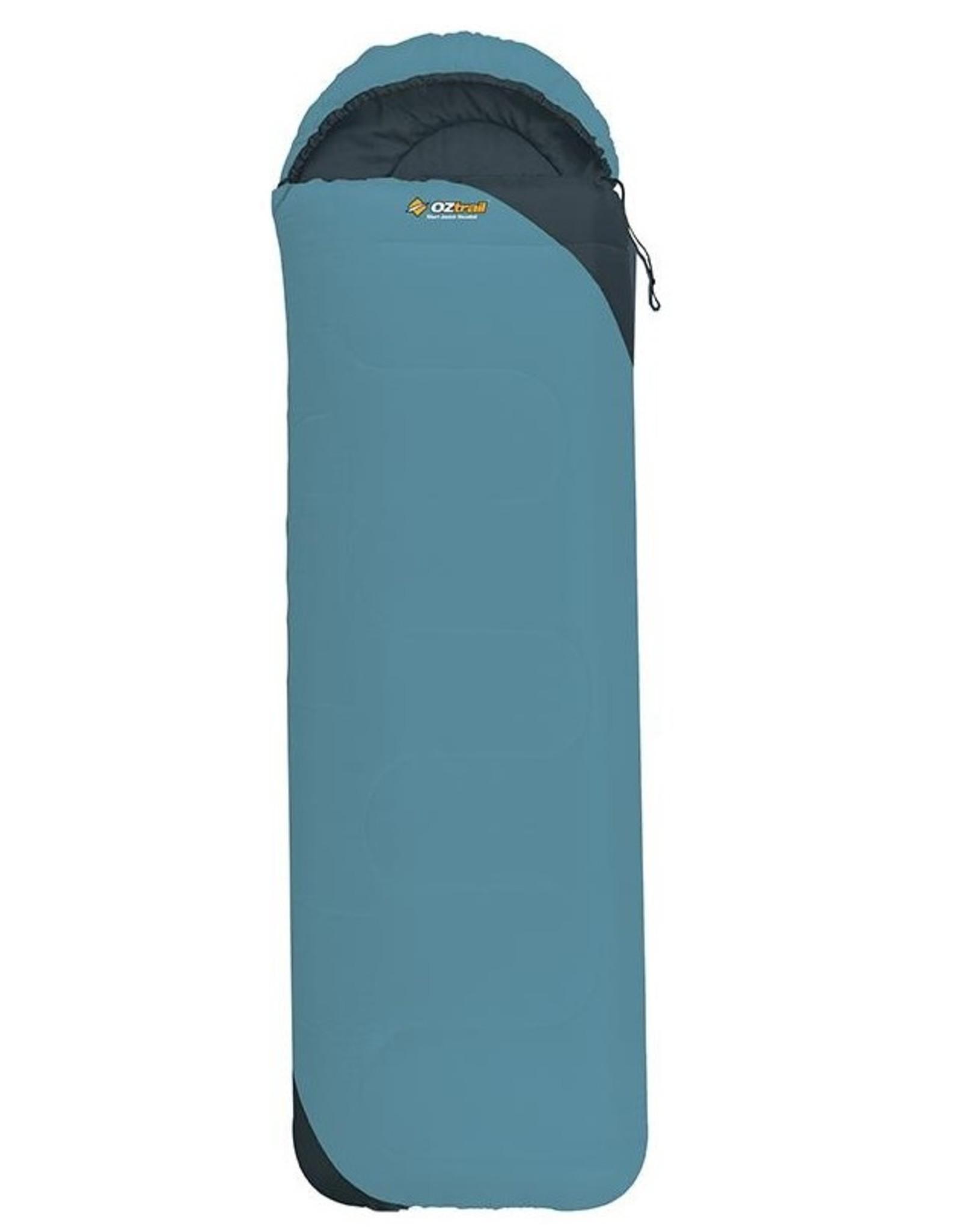 Sturt Junior Hooded Sleeping Bag Aqua