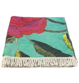 Anna Chandler Design Beach Towel Big Peony