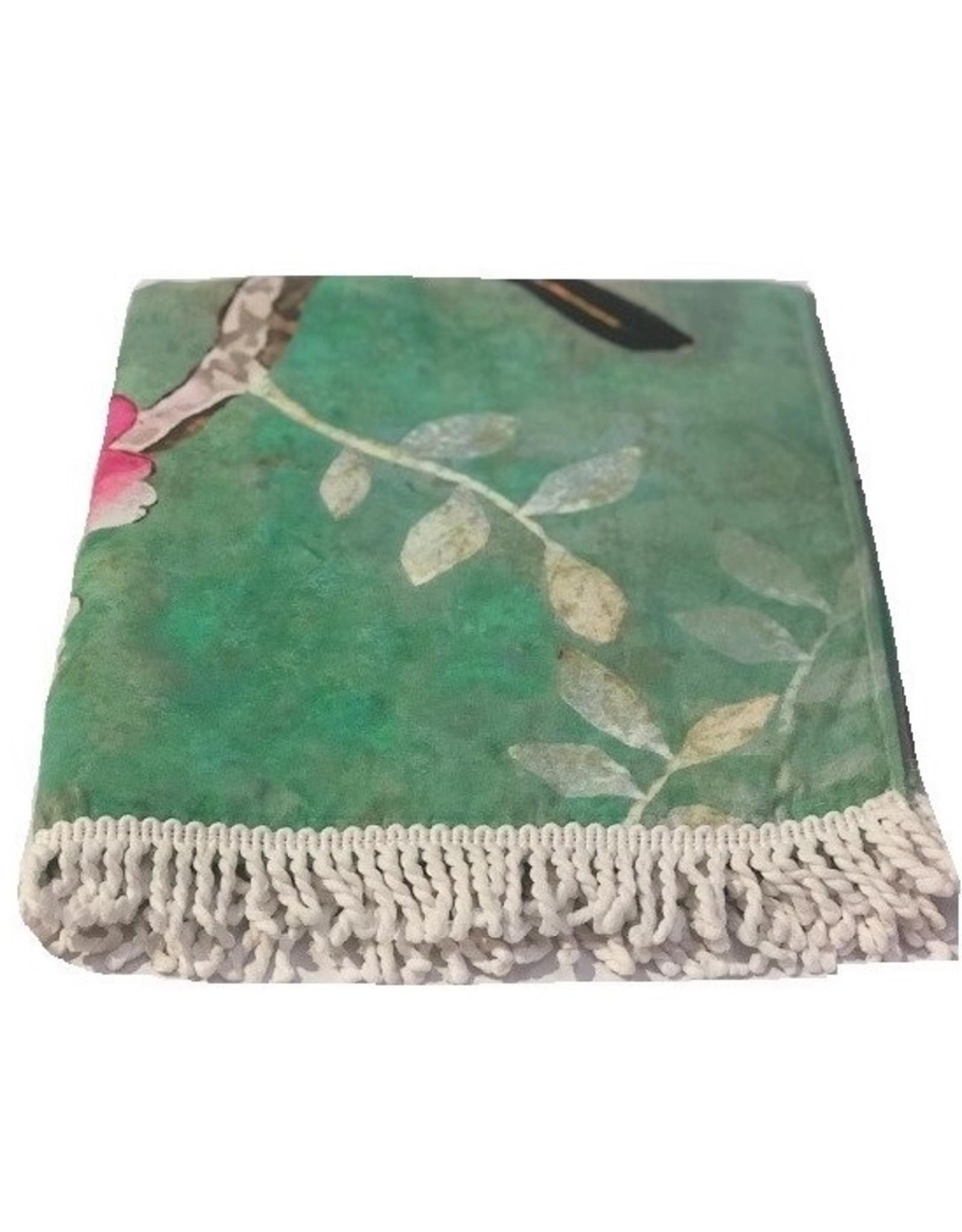 Anna Chandler Design Beach Towel Chinoiserie