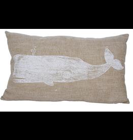 7 Seas Moby Whale Cushion