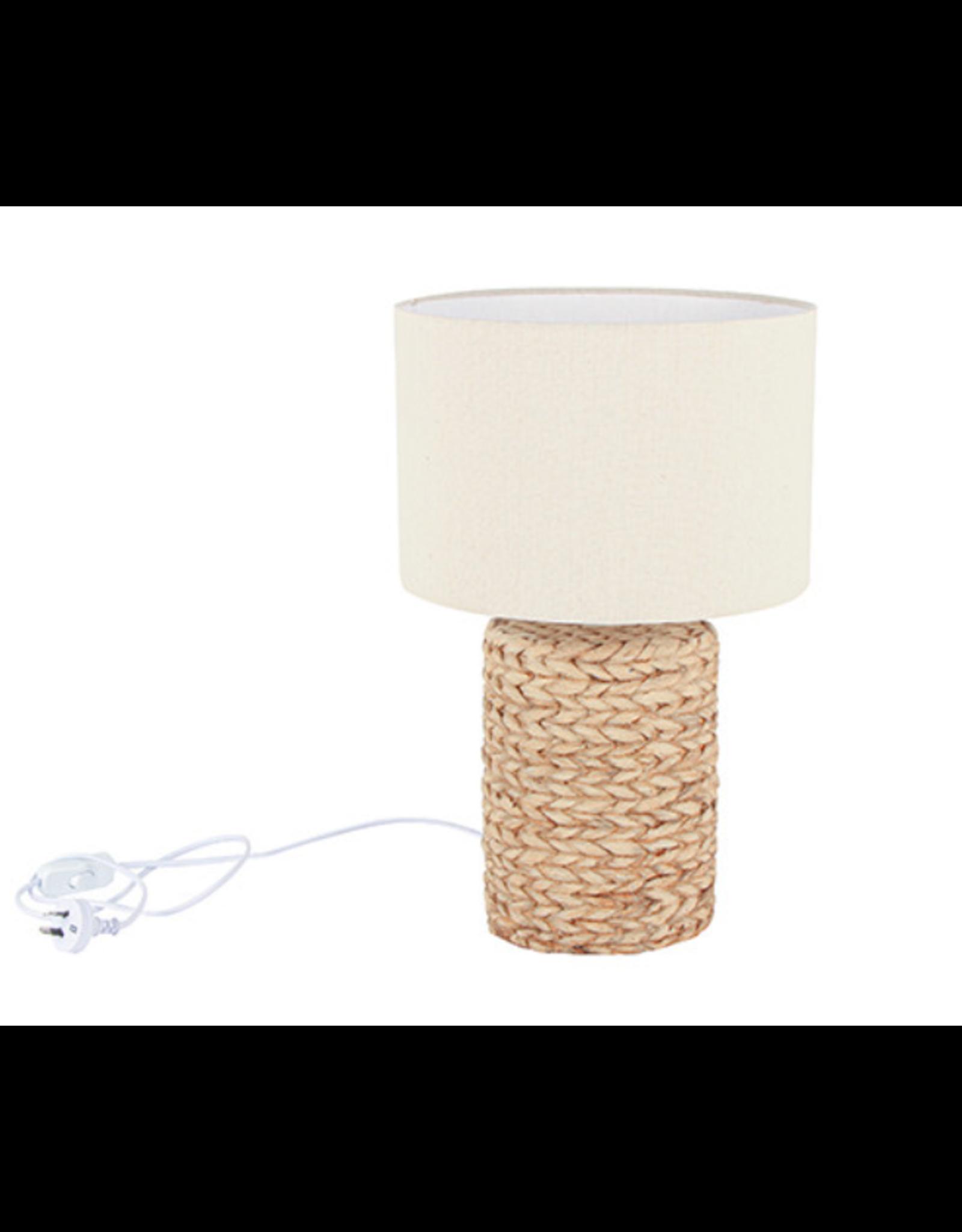 Enoch Concrete Base Table Lamp - Natural