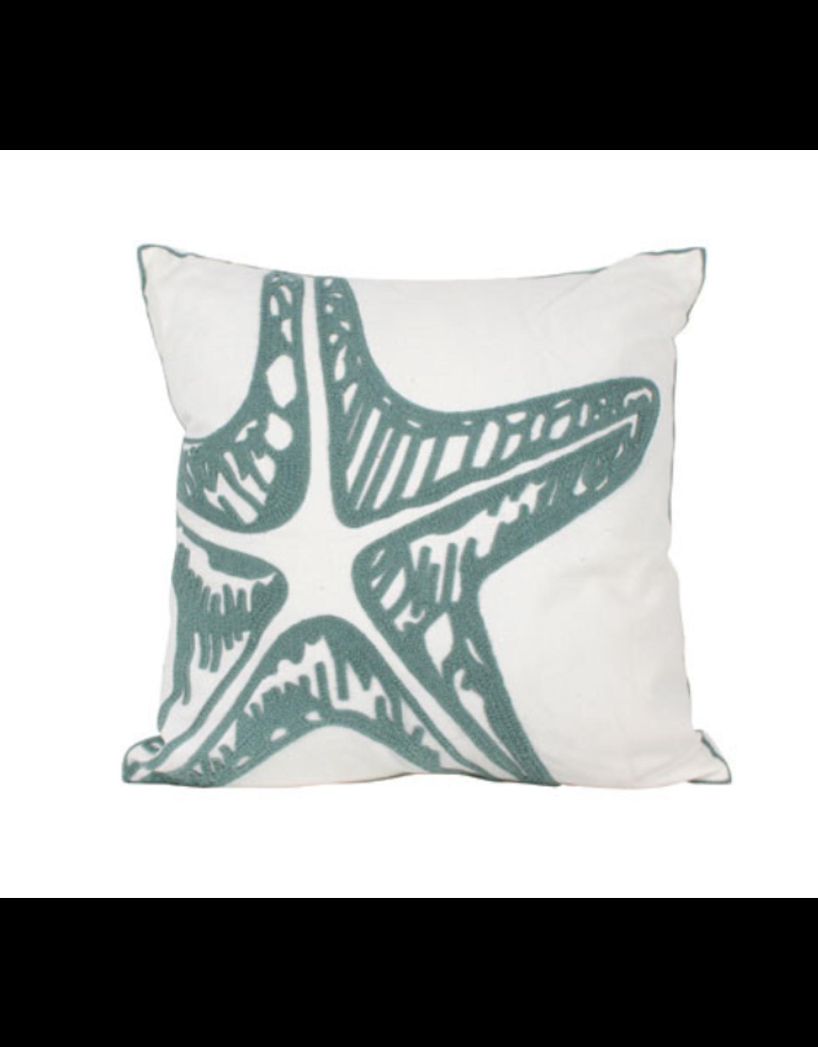 Stelli Star Fish Embroided Cushion