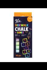 Mont Marte Mont Marte  Sidewalk Chalk and Games 10pc