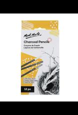 Mont Marte Mont Marte Charcoal Pencils 12pc