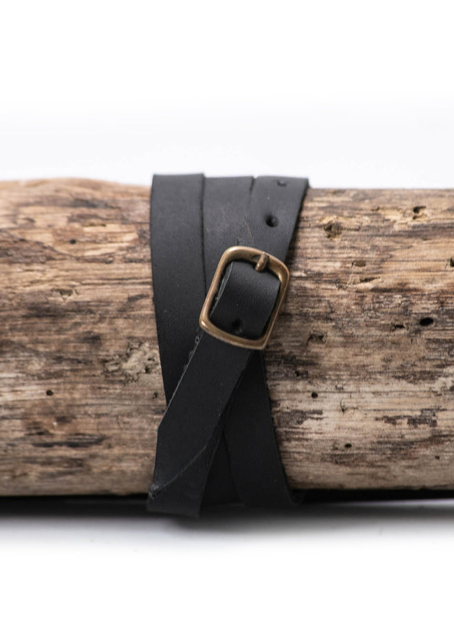 Leather Bracelet Black