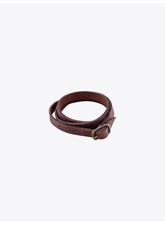 Leather Bracelet Chocolate