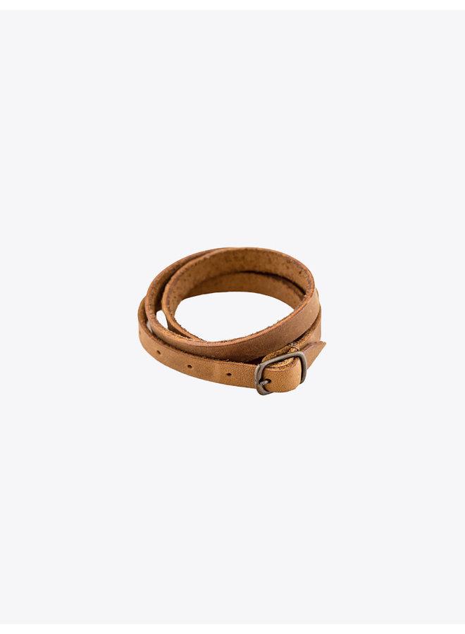 Leather Bracelet Tobacco