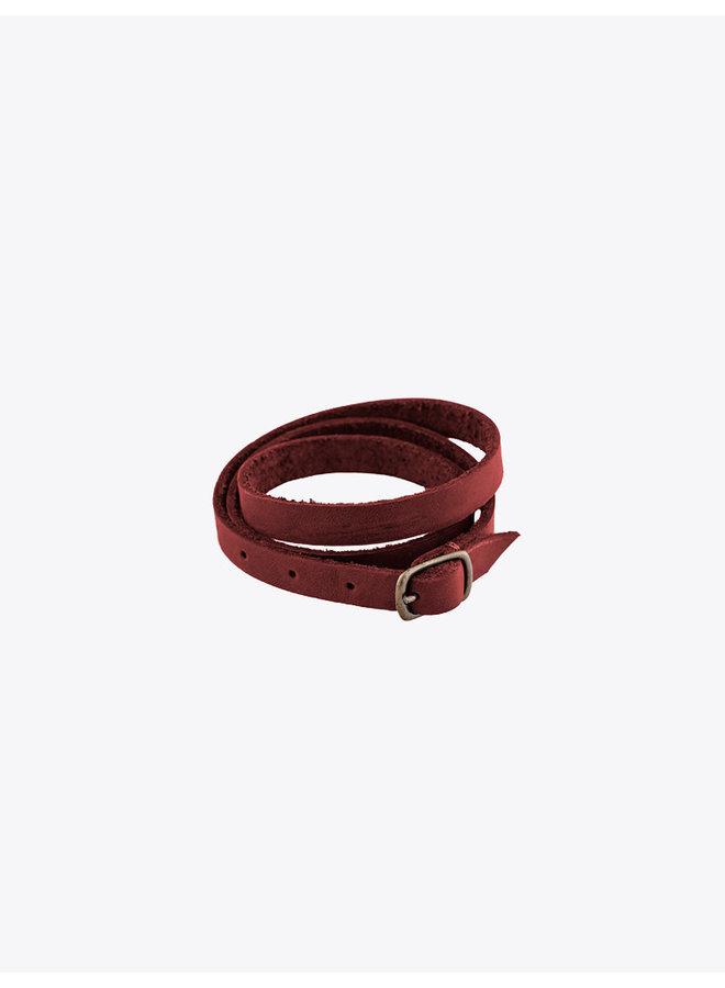 Leather Bracelet vino