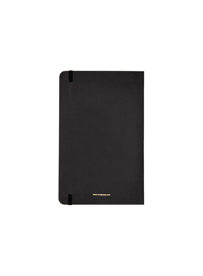 Hard Cover Notebook with Leopard Cover
