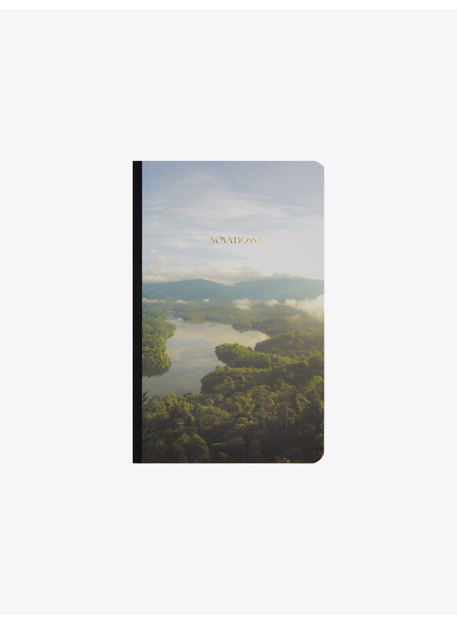 Handcrafted Soft Cover Notebook  Amazon River