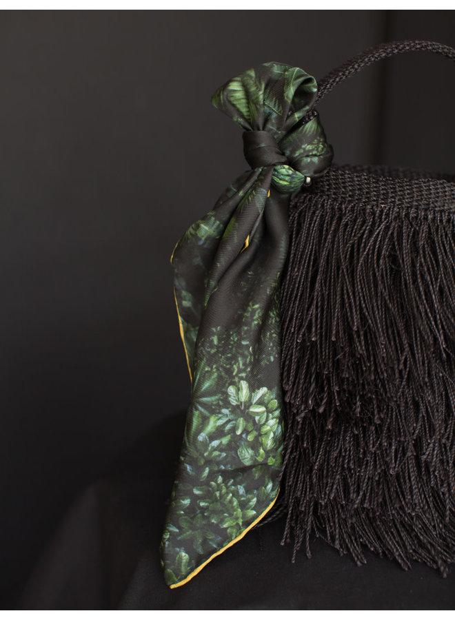 Leaves Silk Scarf