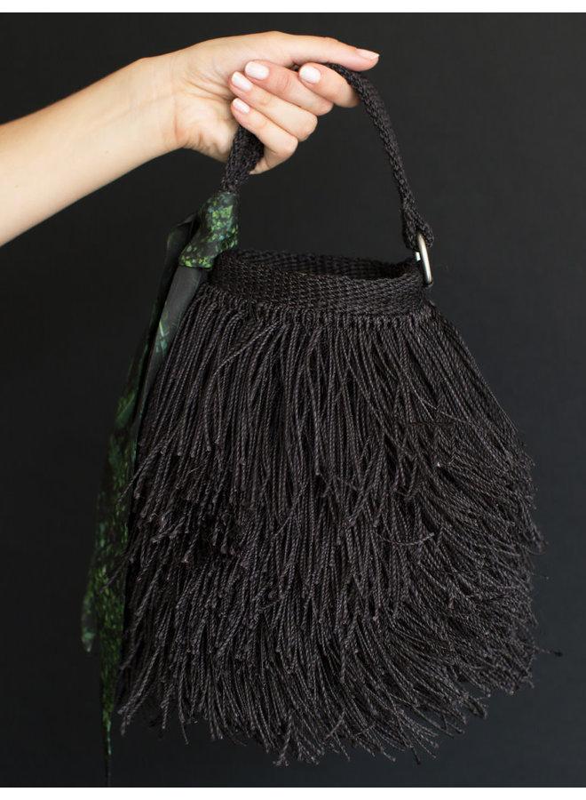 Bruja Bucket Bag in Black