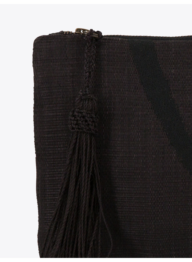 Alas Clutch in Black
