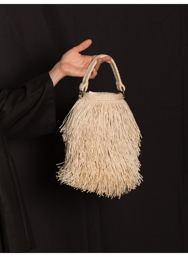 Bruja Bucket Bag in Natural