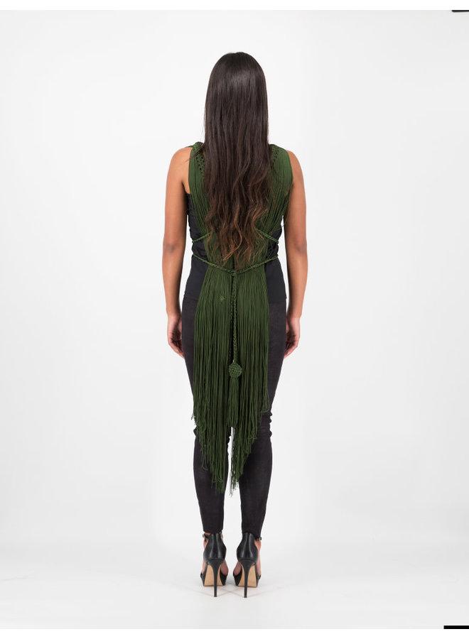 Chameleon Vest in Green