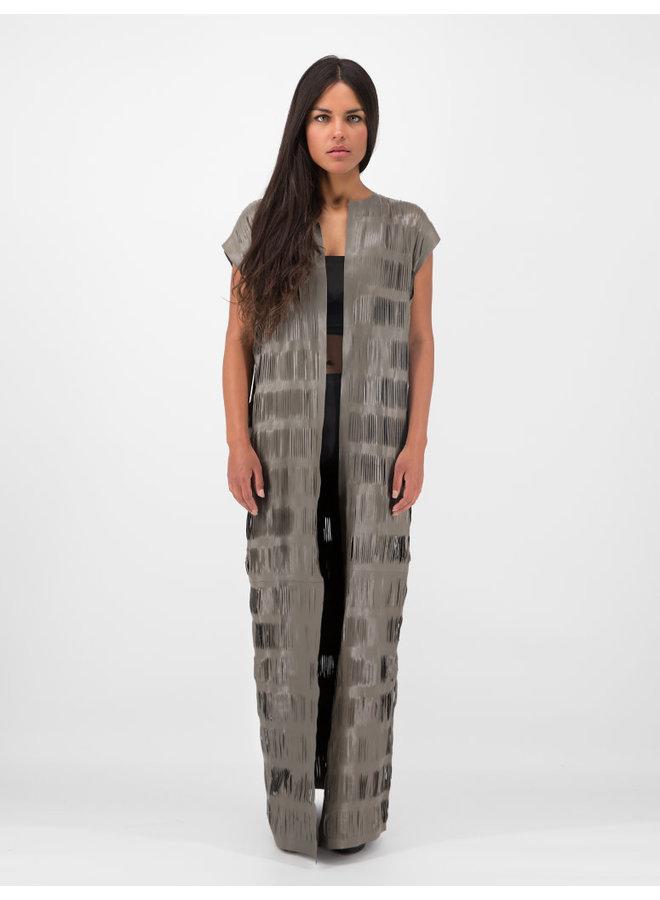 Maxi Vest in Grey