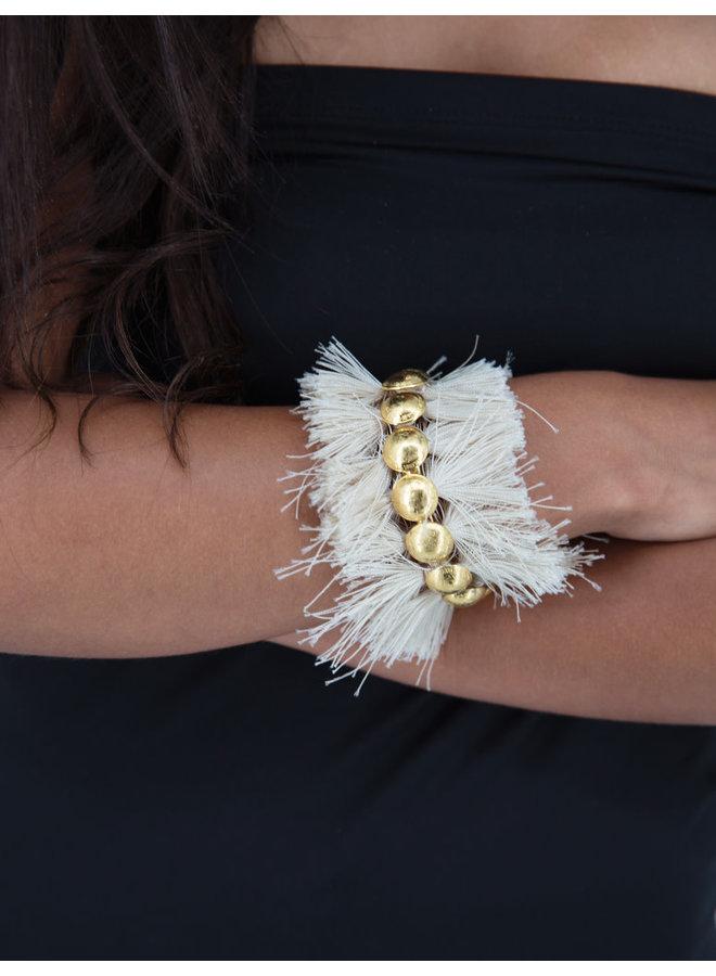 Cangrejo Bracelet  Cream