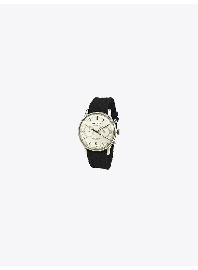 Metropole Watch with Black Strap