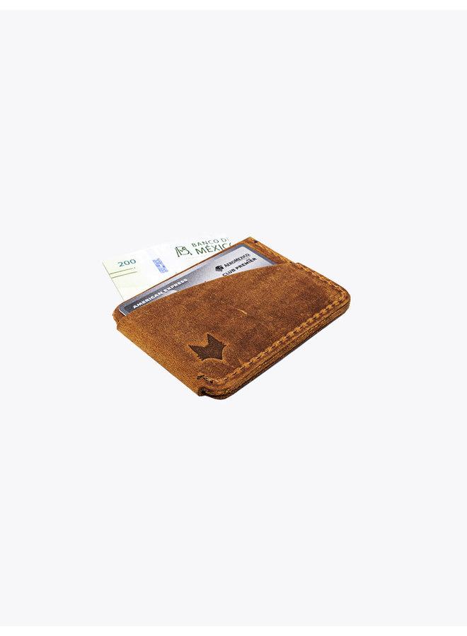 Card Holder  Tobacco