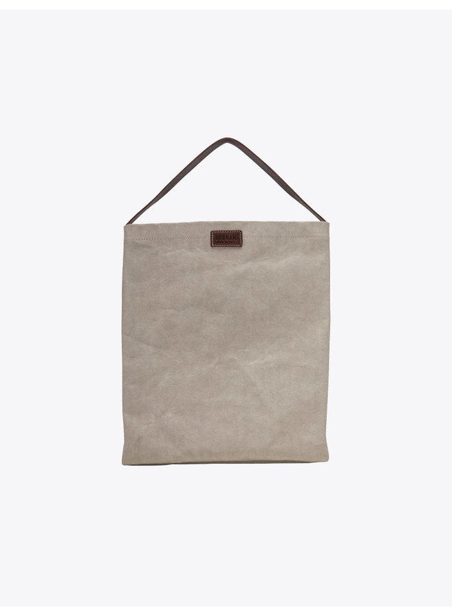 Washable Paper Legna Bag in Grey