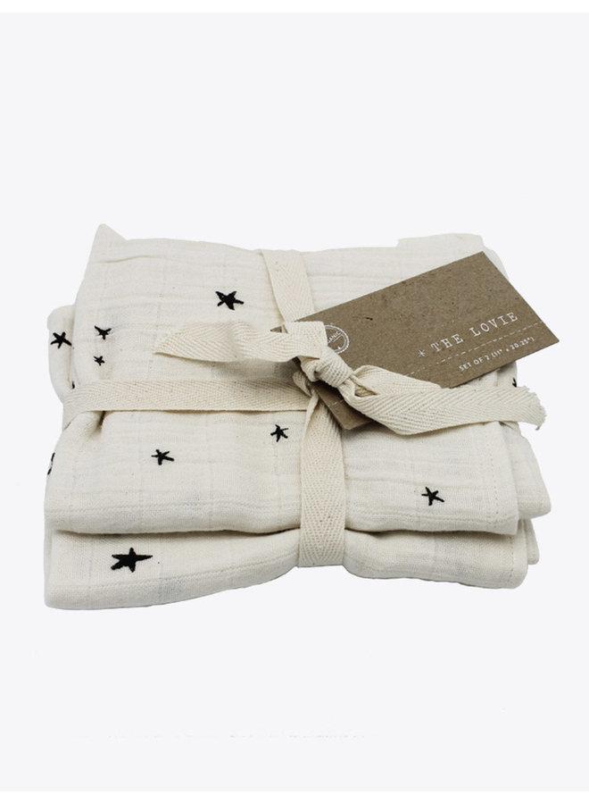 Lovie Moonlight Burp Cloth