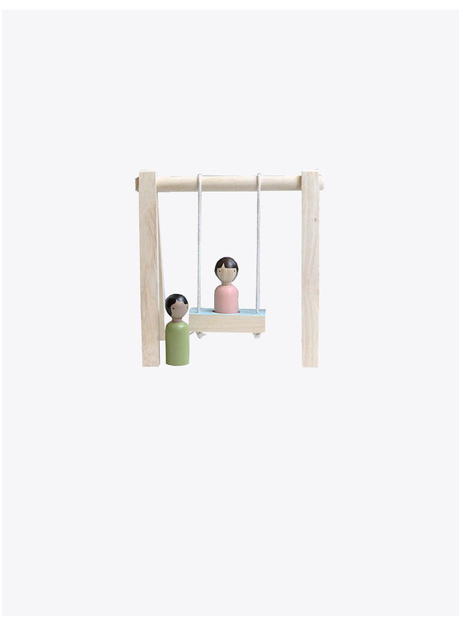 Swing Set & Dolls