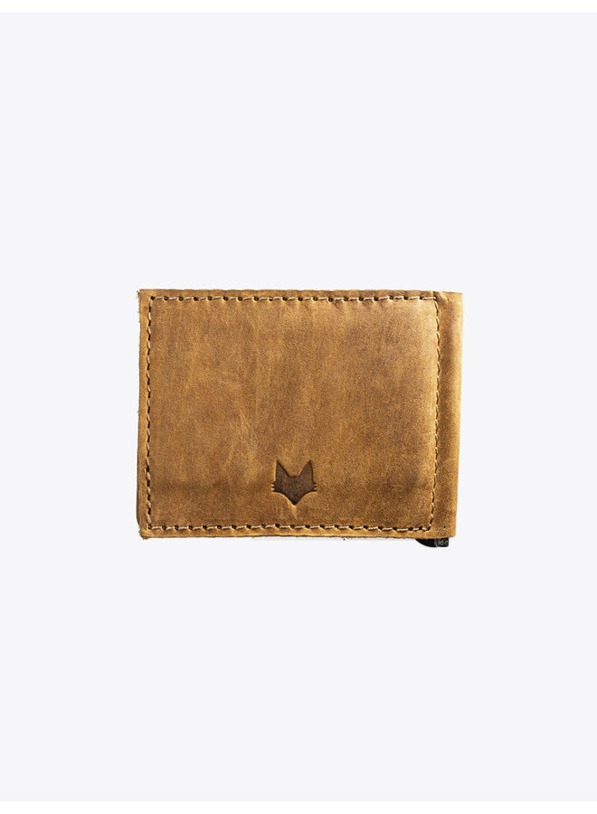 Leather Wallet in Tobacco