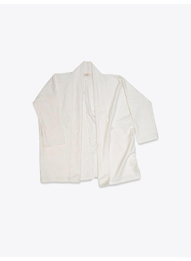 Canvas Kimono Jacket