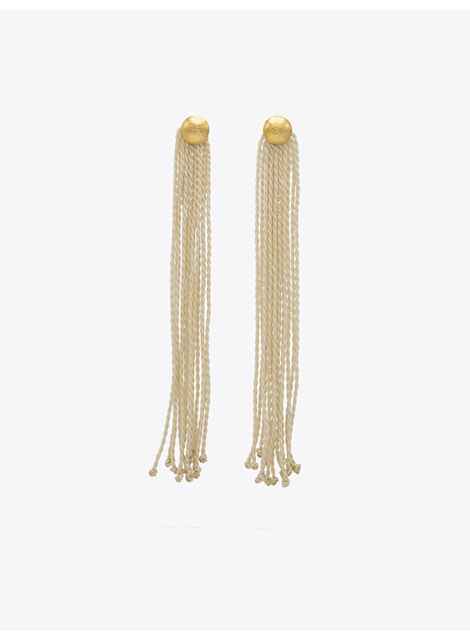 Mini Arana Earrings in Ivory