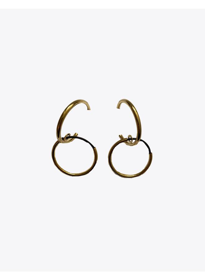 Brandella Double Earrings