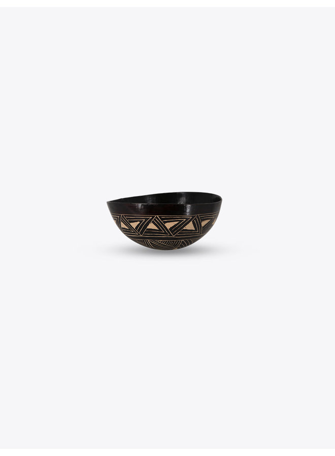 Indigenous Bowl with Triangle Motif