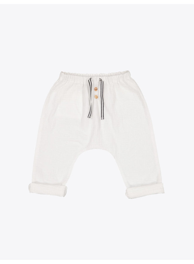 Axel Pants in White