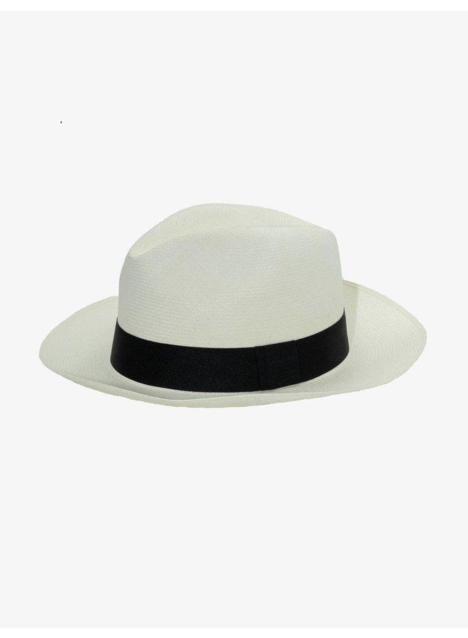 Classic Panama Hat in White