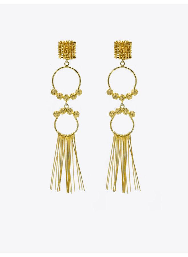 Abisal Flecos Earrings