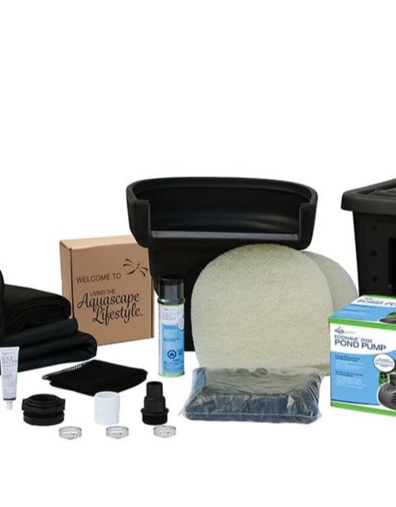 Diy Backyard Pond Kit 4 X6 Acors Topsoil And Mulch