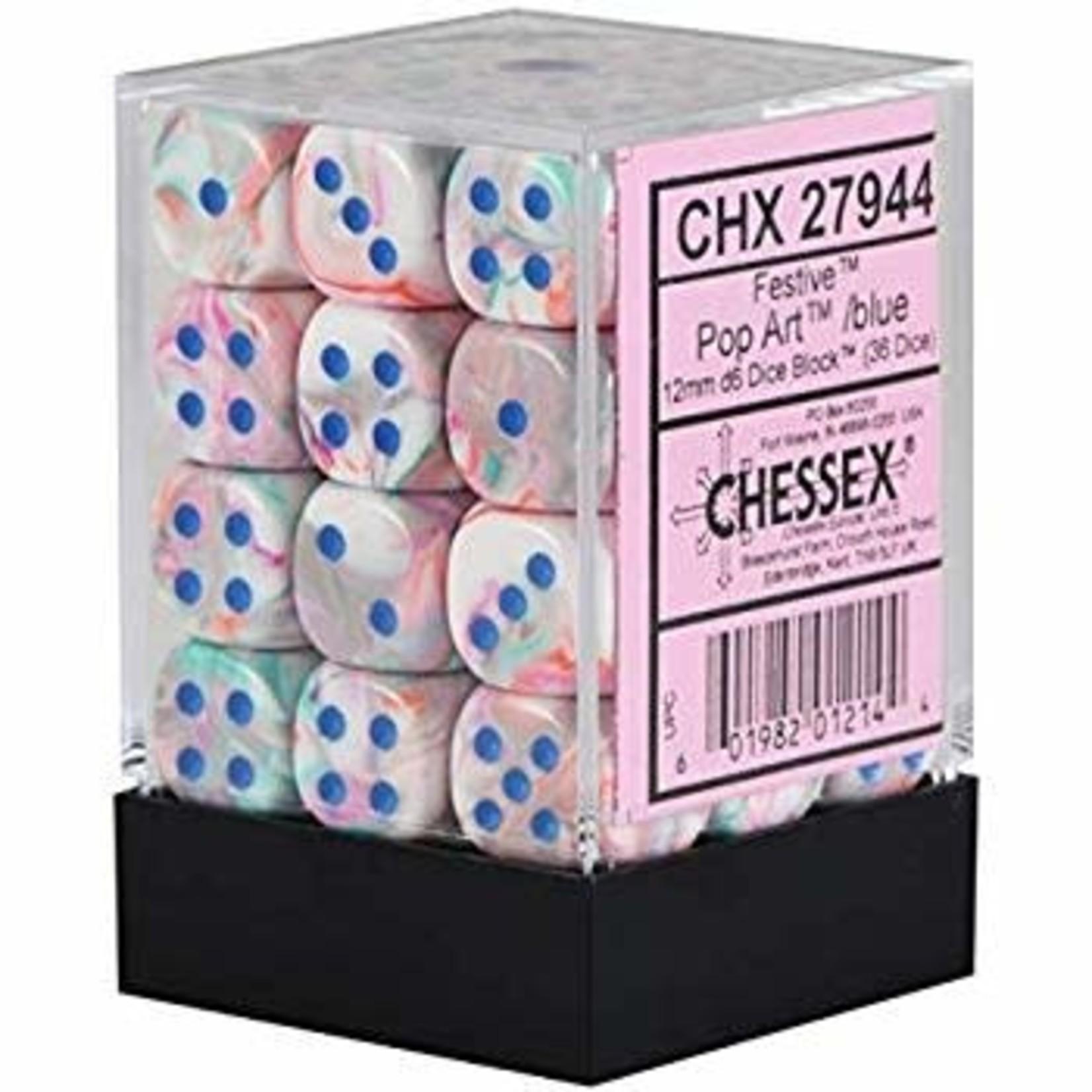 CHX 27944 Festive Pop Art/ Blue (36 count)