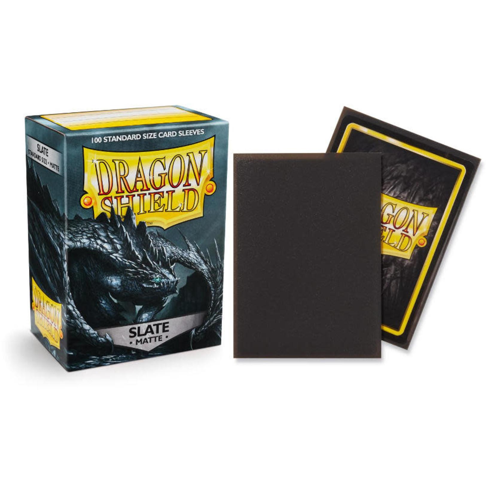Dragon Shield Matte Slate (100 count) Standard