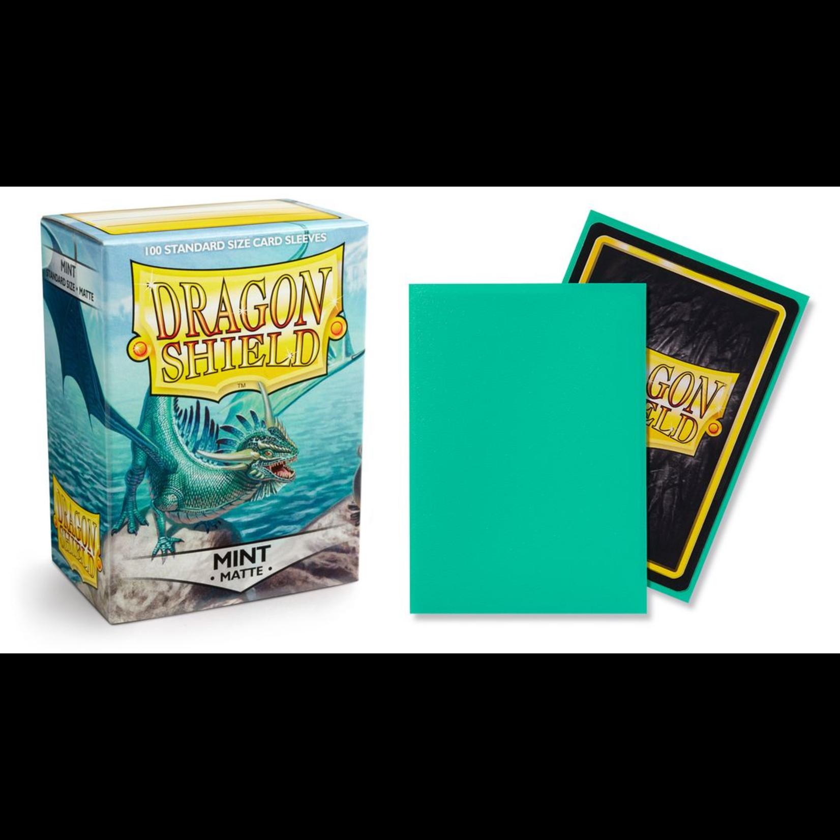 Dragon Shield Matte Mint (100 count) Standard