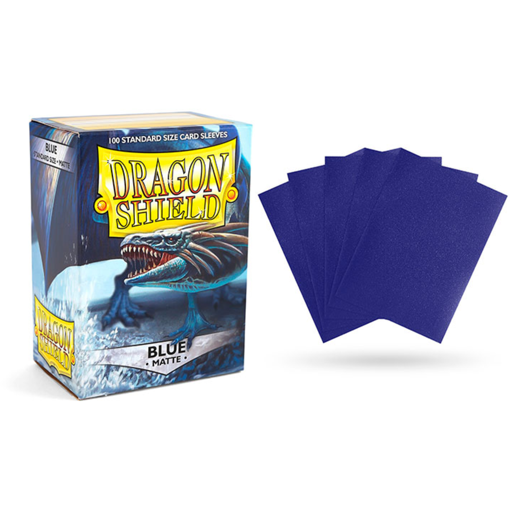 Dragon Shield Matte Blue (100 count) Standard