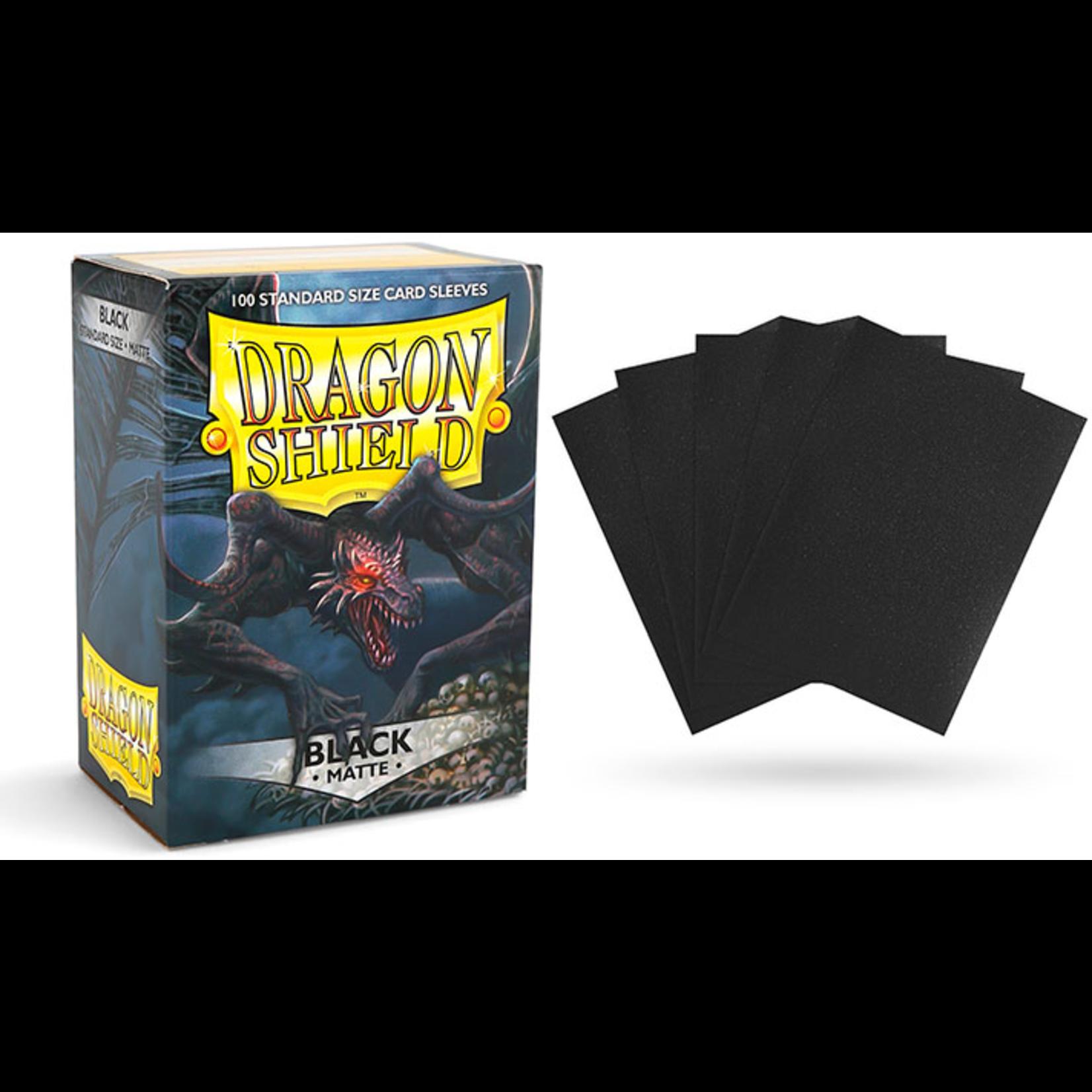 Dragon Shield Matte Black (100 count) Standard