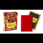 Dragon Shield Matte Crimson (60 count) Small