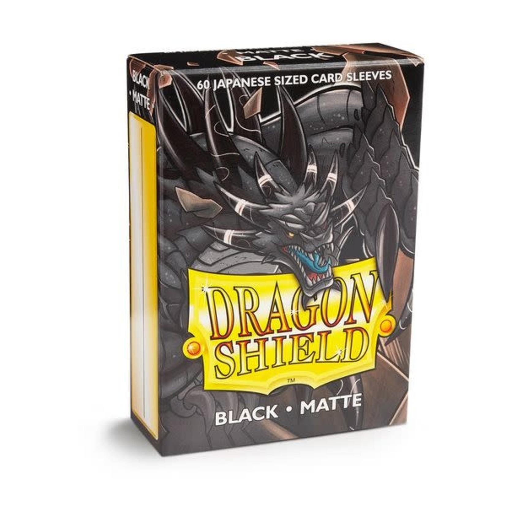 Dragon Shield Matte Black (60 count) Small