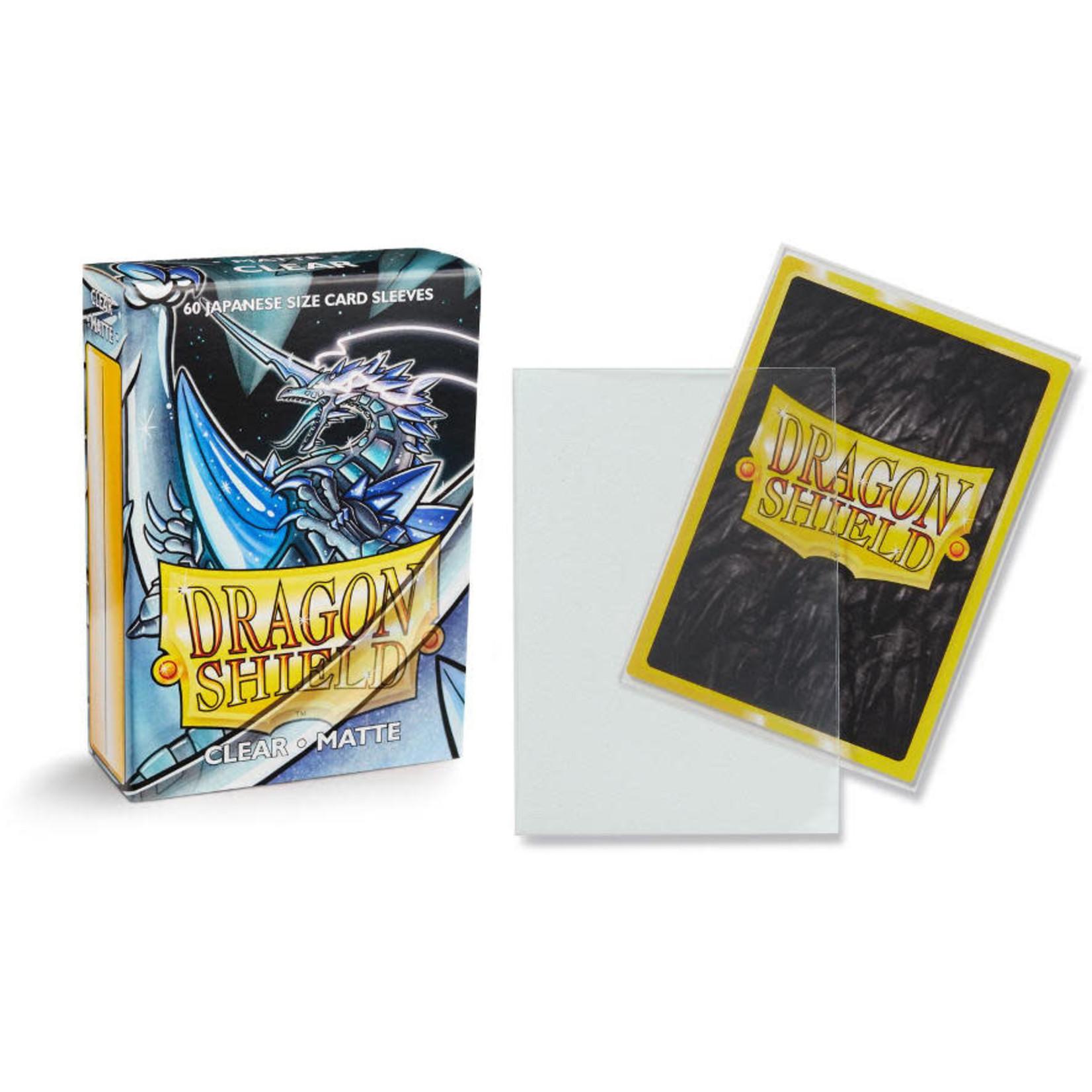 Dragon Shield Matte Clear (60 count) Small