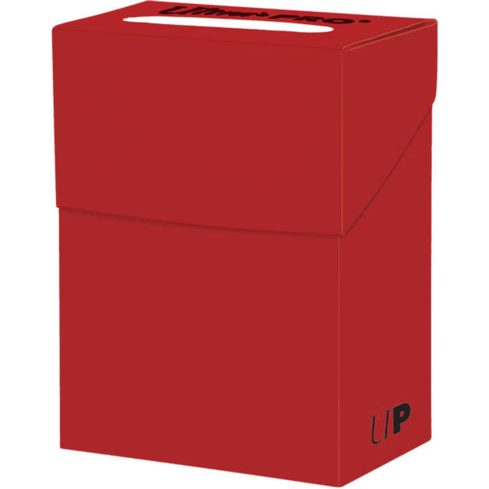 Solid Red Deck Box