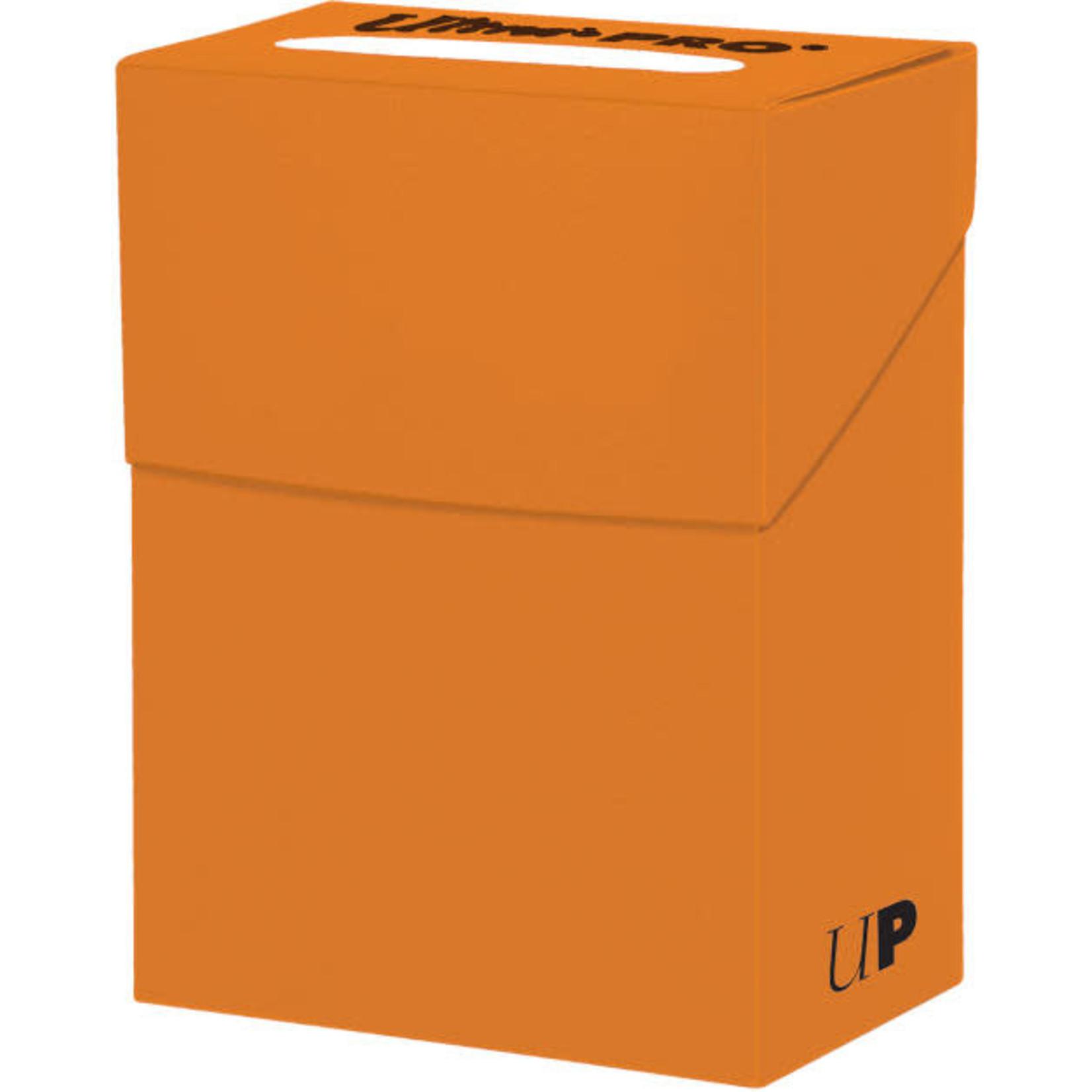Solid Orange Deck Box