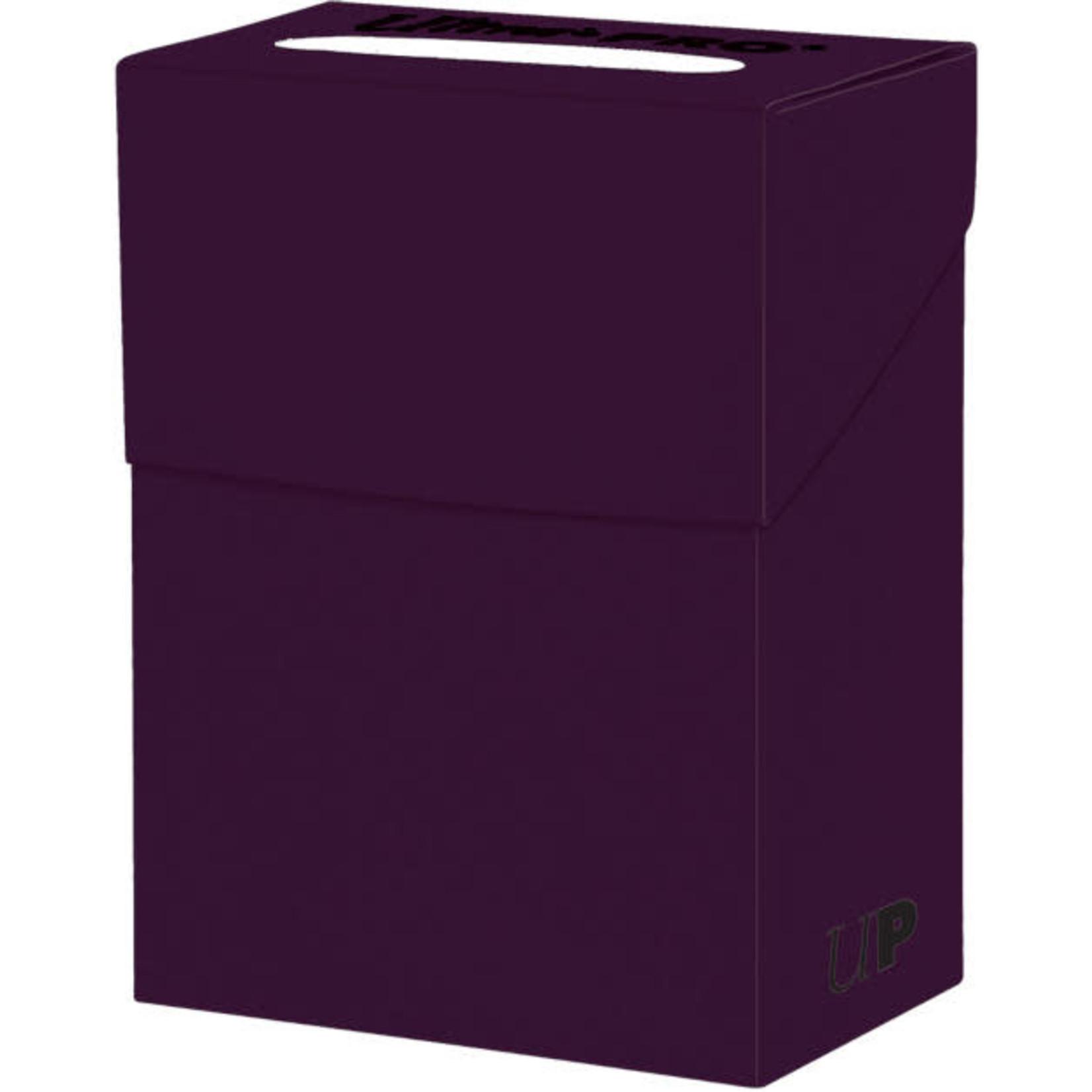 Solid Purple Deck Box