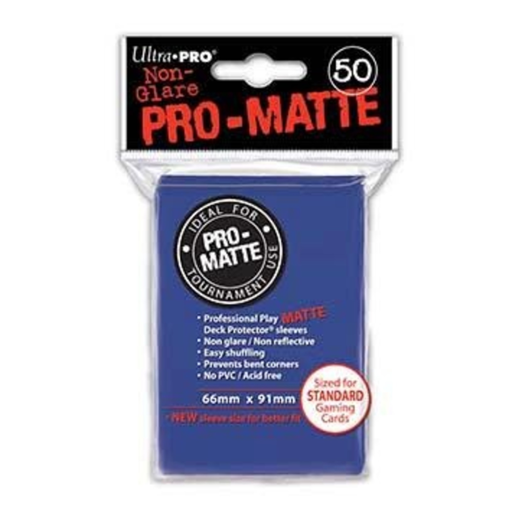 Ultra Pro Matte Blue (50 count) Sleeves