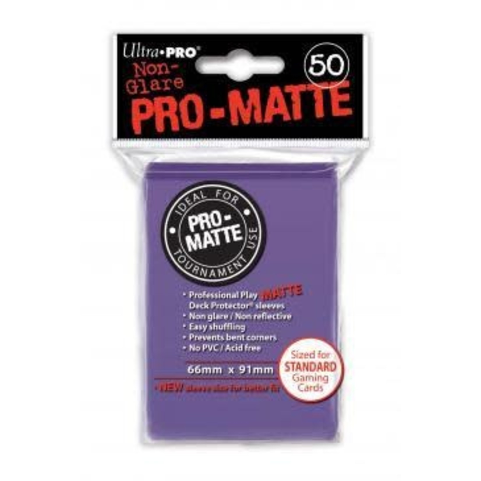 Ultra Pro Matte Purple (50 count) Sleeves