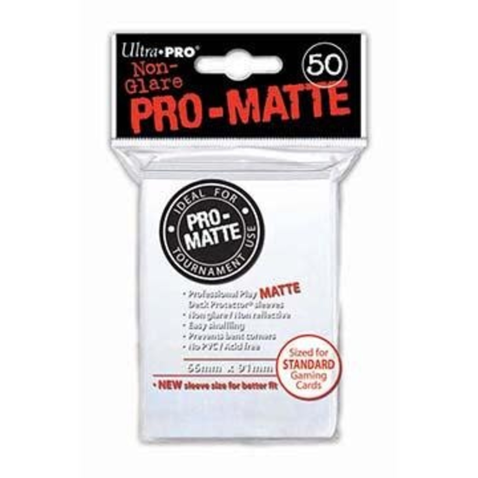 Ultra Pro Matte White (50 count) Sleeves