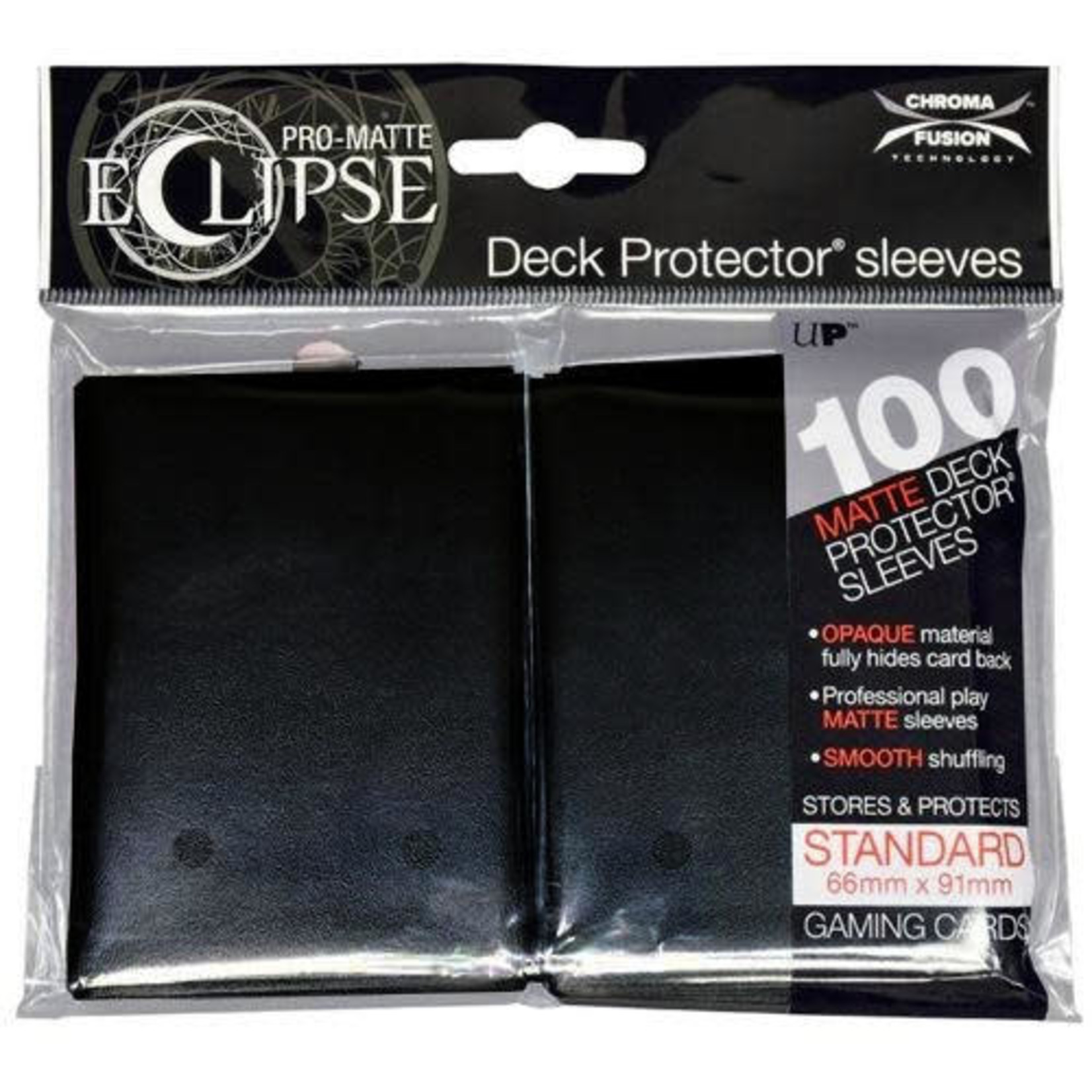 Eclipse Black (100 count) Sleeves